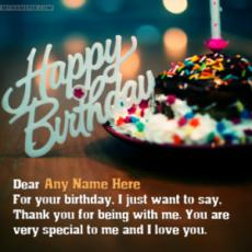 Beautiful Birthday Wishes With Name