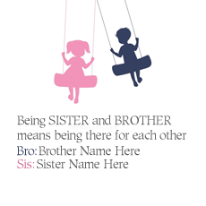 Being Brother Sister With Name