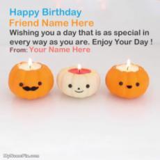 Best Pumpkin Candle Birthday Wish