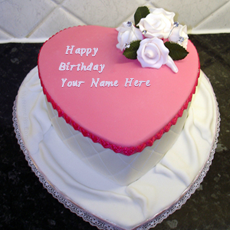 Birthday Cake For Girls With Name