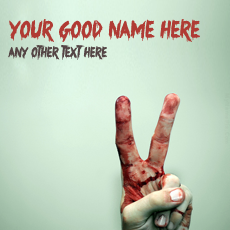 Bleeding Victory With Name