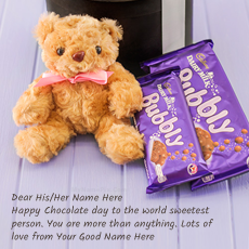 Chocolate Day Wish With Name