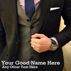 Classy Style With Name