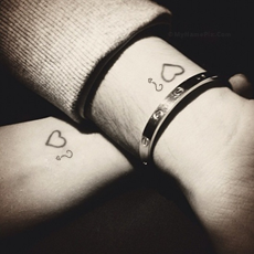 Couple Tattoo With Name