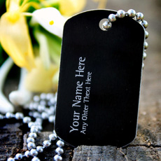 Personalized Dog Tag Necklace With Name