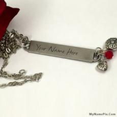 Personalized Fantastic Necklace With Name