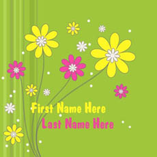 Cute Flowers With Name