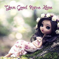 Cute Stylish Little Doll Pic For Girls