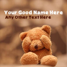 Cute Teddy With Name