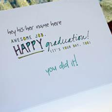 Happy Graduation With Name