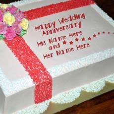 Happy Wedding Anniversary With Name