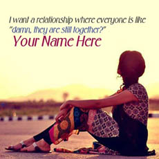 I want a relationship With Name