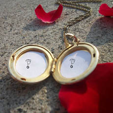 Love Pendant With Name