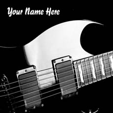 Play Guitar With Name