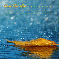Raining Leaf With Name