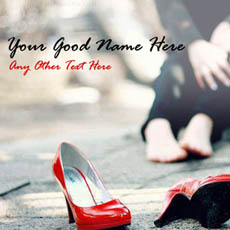 Walk A Mile in Her Shoes With Name
