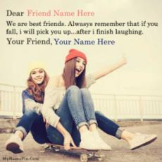Laughing Best Friend Quote