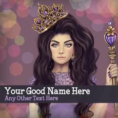 Princess Girl With Name