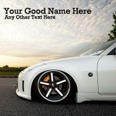 Ultimate Car With Name