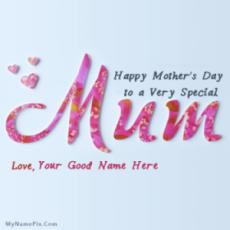 Unique Mothers Day With Name