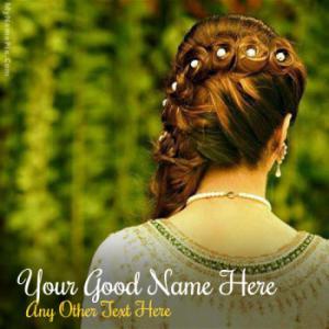 Braid Girl With Name