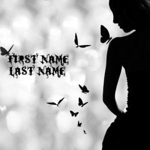 Butterfly Girl With Name