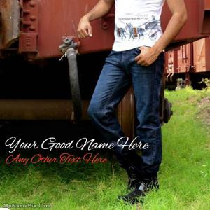 Fashion Jeans With Name