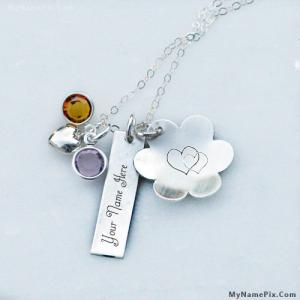 Personalized Lovely Silver Necklace With Name