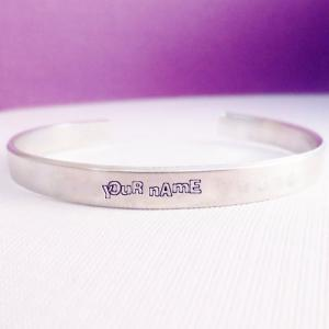 Personalized Silver Bracelets With Name