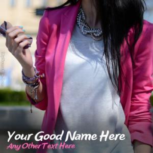 Stylish Attitude Girl With Name