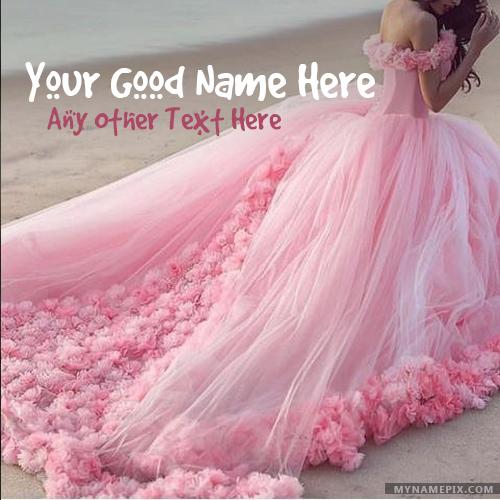 Amazing Pink Dress Girl