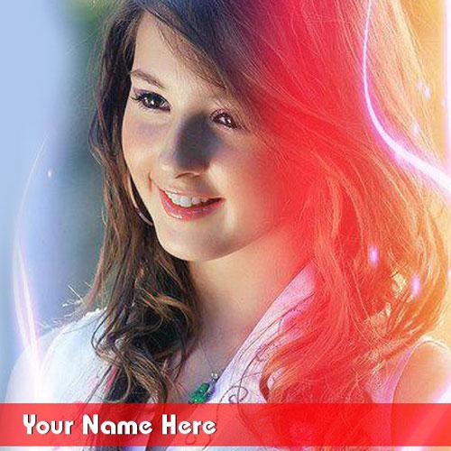 Beautiful Girl With Name