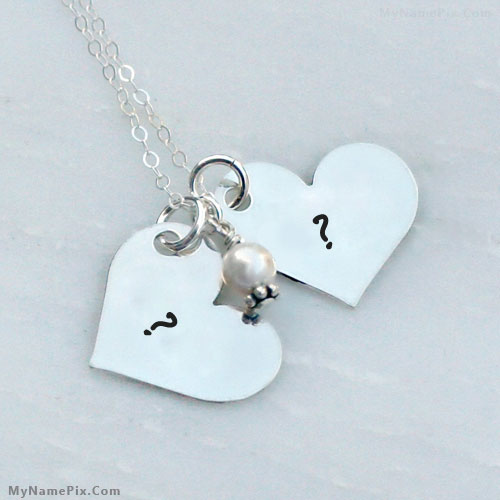 Couple Hearts With Name