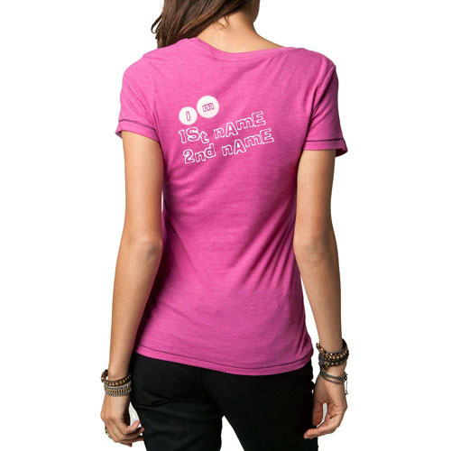Girl Pink T-Shirt With Name
