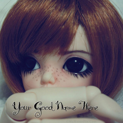 Little Sad Doll With Name