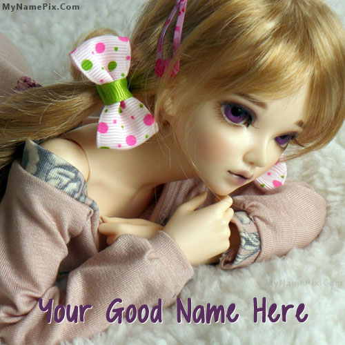 Lovely Doll With Name