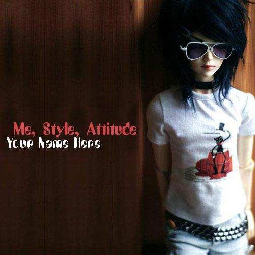 Me Style Attitude With Name
