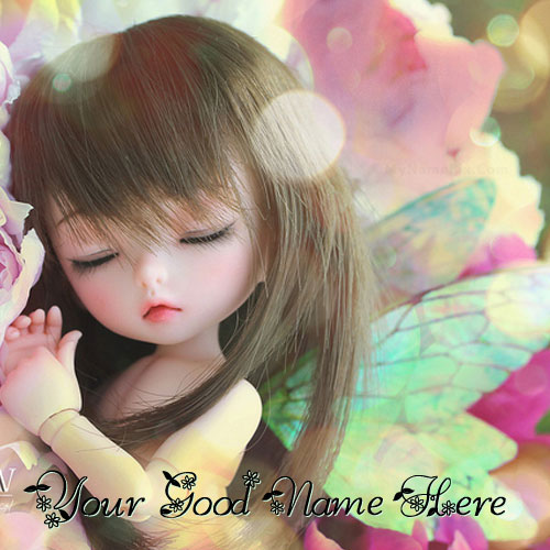 Sweet Little Doll With Name