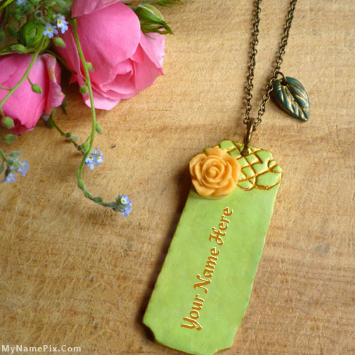 Personalized Vintage Bar Necklace With Name
